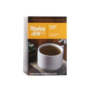 Mighty Leaf Tea Ginger Twist Herbal Tea