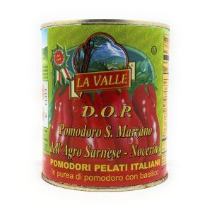 La Valle DOP San Marzano Italian Peeled Tomatoes