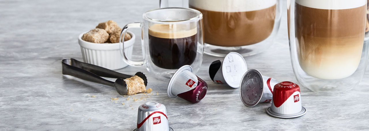 illy espresso capsules